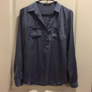 The Limited Henley blouse